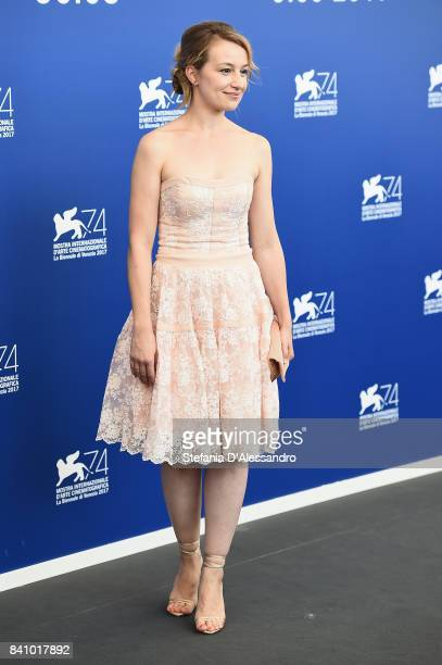 Anamaria Marinca attends the 'Nico 1988' photocall during the 74th Venice Film Festival on August 30 2017 in Venice Italy