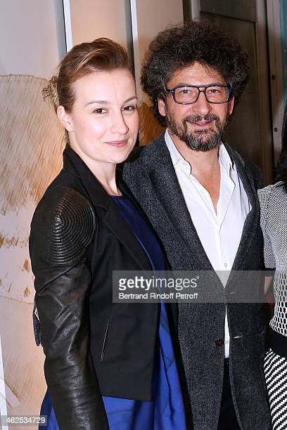 Anamaria Marinca sponsored by Radu Mihaileanu for the movie 'Un nuage dans un verre d'eau' at the Chaumet's Cocktail Party for Cesar's Revelations...