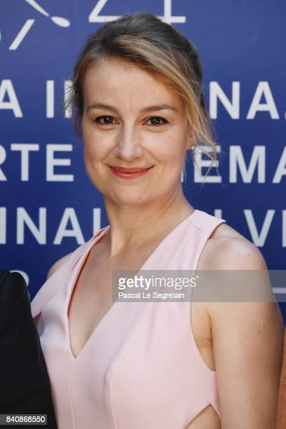 Anamaria Marinca walks the red carpet ahead of the 'Nico 1988' screening during the 74th Venice Film Festival at Sala Darsena on August 30 2017 in...