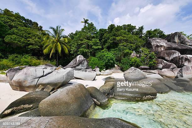 anambas island riau indonesia. - riau images stockfoto's en -beelden