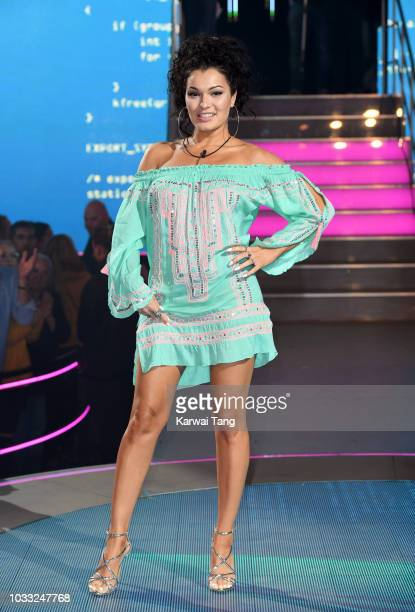 Anamelia Silva enters the Big Brother house at Elstree Studios on September 14 2018 in Borehamwood England