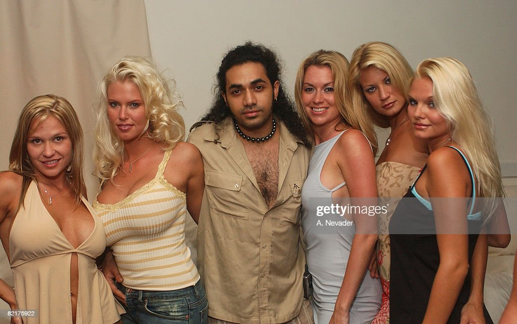 Siren Models Party with Anand Jon in the Hamptons : News Photo