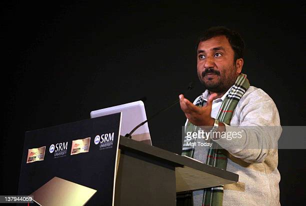 Anand Kumar founder of Super 30 speaks at the first India Today Aspire Education Summit held at The Grand Vasant Kunj in New Delhi on 27th January...