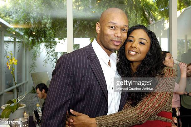 Ananda Lewis and guest during W Magazine Oscar Suite Day 2 in Los Angeles California United States
