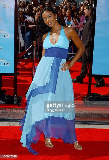 Ananda Lewis during 2005 BET Awards Arrivals at Kodak Theatre in Hollywood California United States