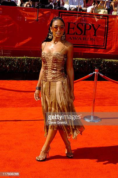 Ananda Lewis during 2005 ESPY Awards Arrivals at Kodak Theatre in Hollywood California United States