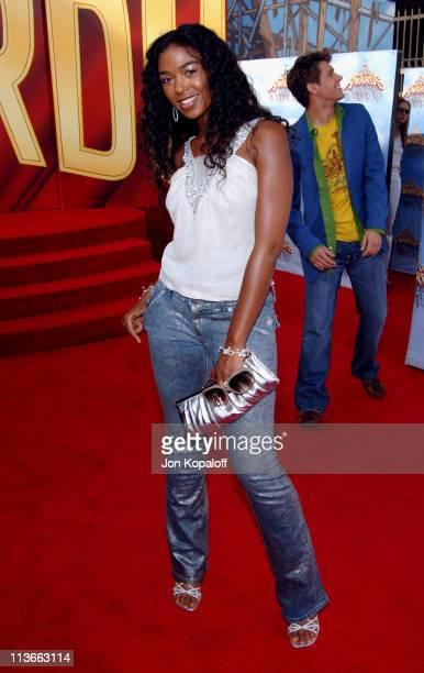 Ananda Lewis during 2005 MTV Movie Awards Arrivals at Shrine Auditorium in Los Angeles California United States