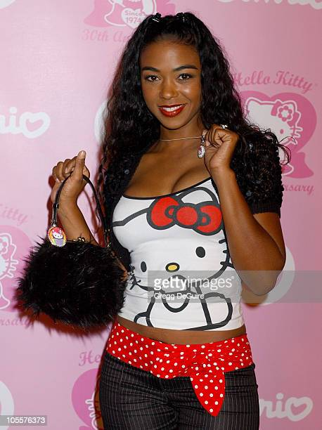 Ananda Lewis during 30th Anniversary Party for Hello Kitty Presented by SANRIO and Target Arrivals at Raleigh Studios in Hollywood California United...