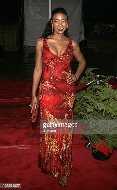 Ananda Lewis during 31st Annual People's Choice Awards Arrivals at Pasadena Civic Auditorium in Pasadena California United States