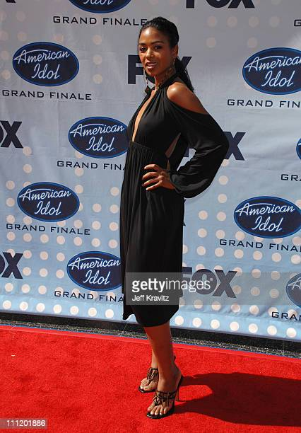 Ananda Lewis during American Idol Season 6 Finale Arrivals at Kodak Theatre in Hollywood California United States