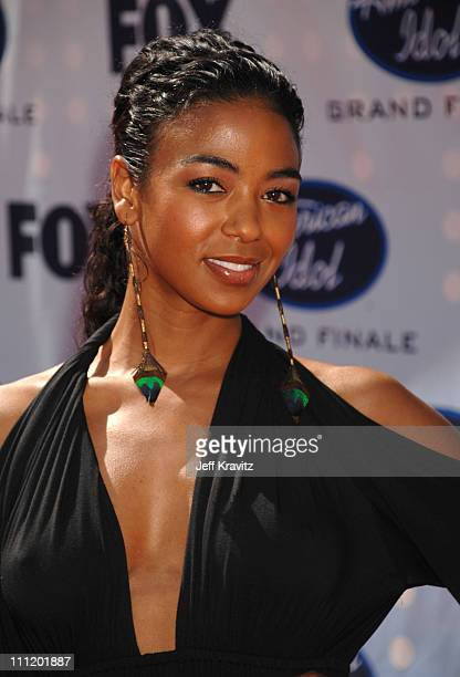 Ananda Lewis during 'American Idol' Season 6 Finale Arrivals at Kodak Theatre in Hollywood California United States