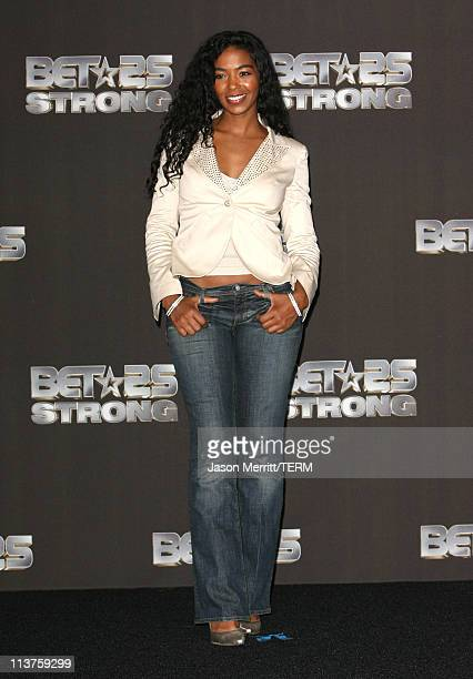Ananda Lewis during BET 25th Anniversary Show Press Room at Shrine Auditorium in Los Angeles California United States