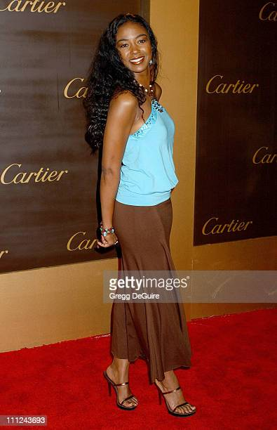 Ananda Lewis during Cartier Celebrates 25 Years in Beverly Hills in Honor of Project ALS Arrivals at Cartier in Beverly Hills California United States