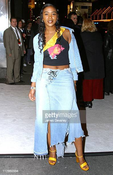 Ananda Lewis during 'Enough' New York City Premiere After Party at Roseland in New York City New York United States