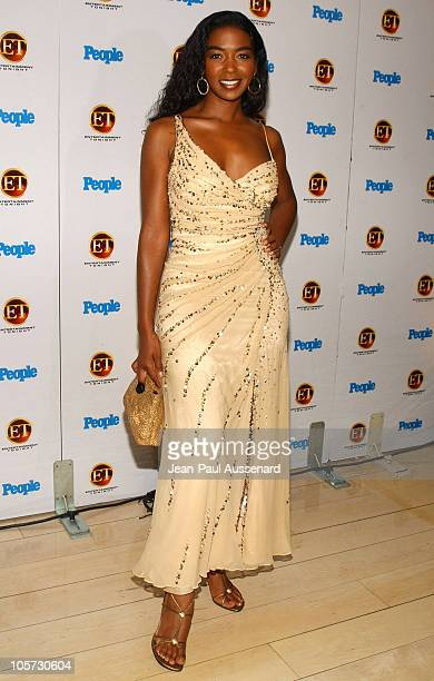 Ananda Lewis during Entertainment Tonight and People Magazine Celebrate The 57th Annual Emmy Awards at Mondrian in West Hollywood California United...