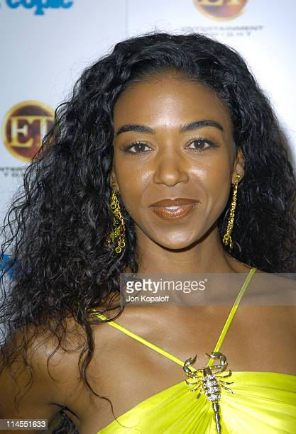 Ananda Lewis during Entertainment Tonight Emmy Party Sponsored by People Magazine Arrivals at The Mondrian in West Hollywood California United States