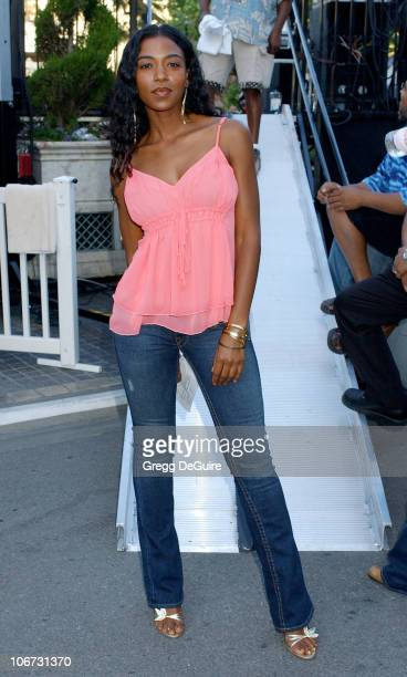Ananda Lewis during Jada PinkettSmith and Wicked Wisdom Perform Live at the Free Summer Music Series at The Grove at The Grove in Los Angeles...