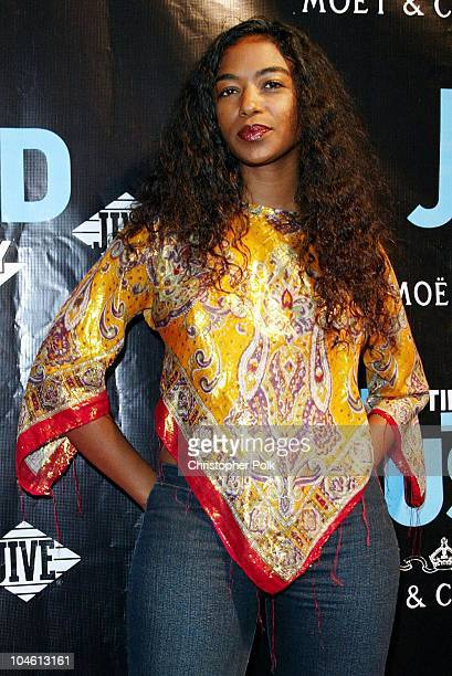 Ananda Lewis during Justin Timberlake Justified Album Release Party Arrivals at Smash Box Studios in Culver City CA United States