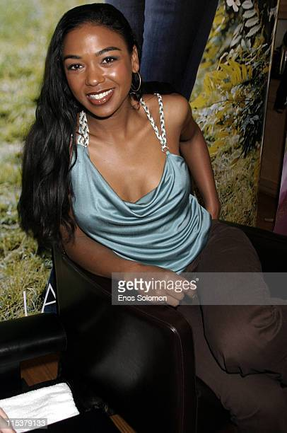 Ananda Lewis during Lane Bryant's Hollywood Suite and Retreat at Celebrity Spa in Beverly Hills California United States