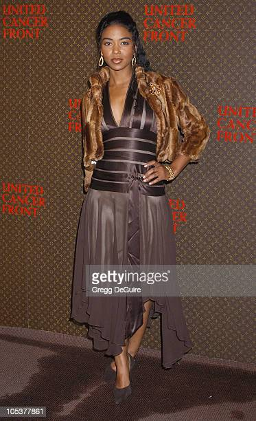 Ananda Lewis during The Louis Vuitton United Cancer Front Gala at Universal Studios in Universal City California United States