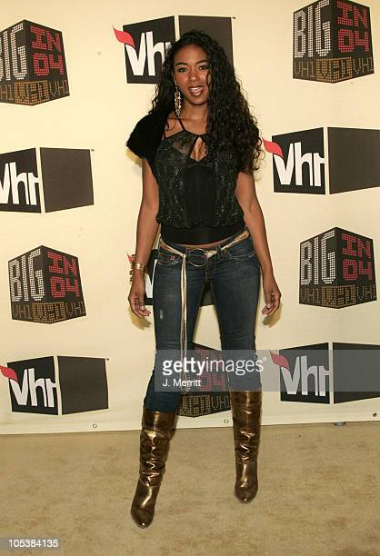 Ananda Lewis during VH1 Big in '04 Arrivals at Shrine Auditorium in Los Angeles California United States