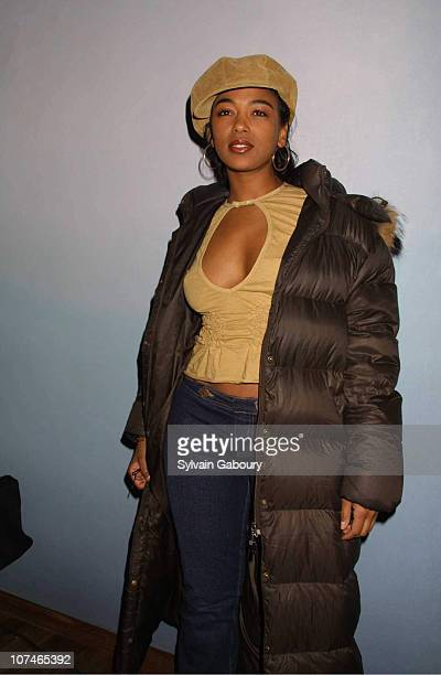 Ananda Lewis during VIBE Magazine Celebrates April Cover Model Brandy With Album Release Party at The Blue Fin in New York New York United States