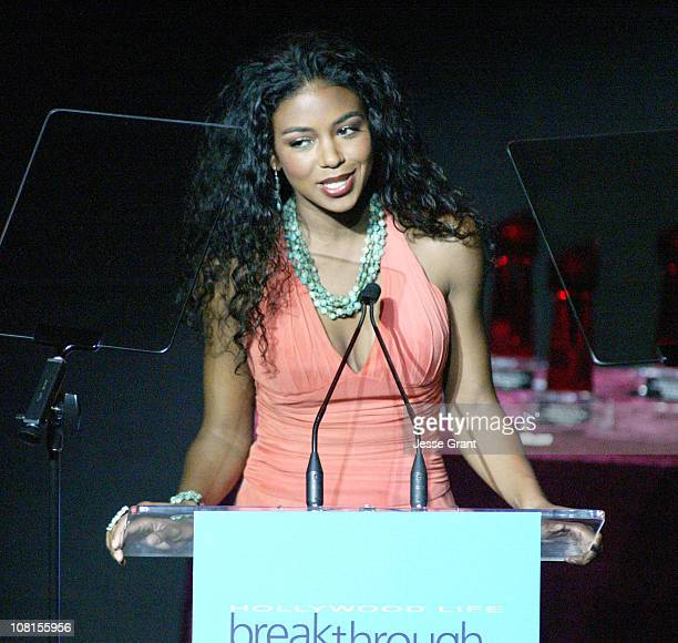 Ananda Lewis host during Hollywood Life's 4th Annual Breakthrough of the Year Awards Show at Henry Fonda Music Box Theatre in Hollywood California...