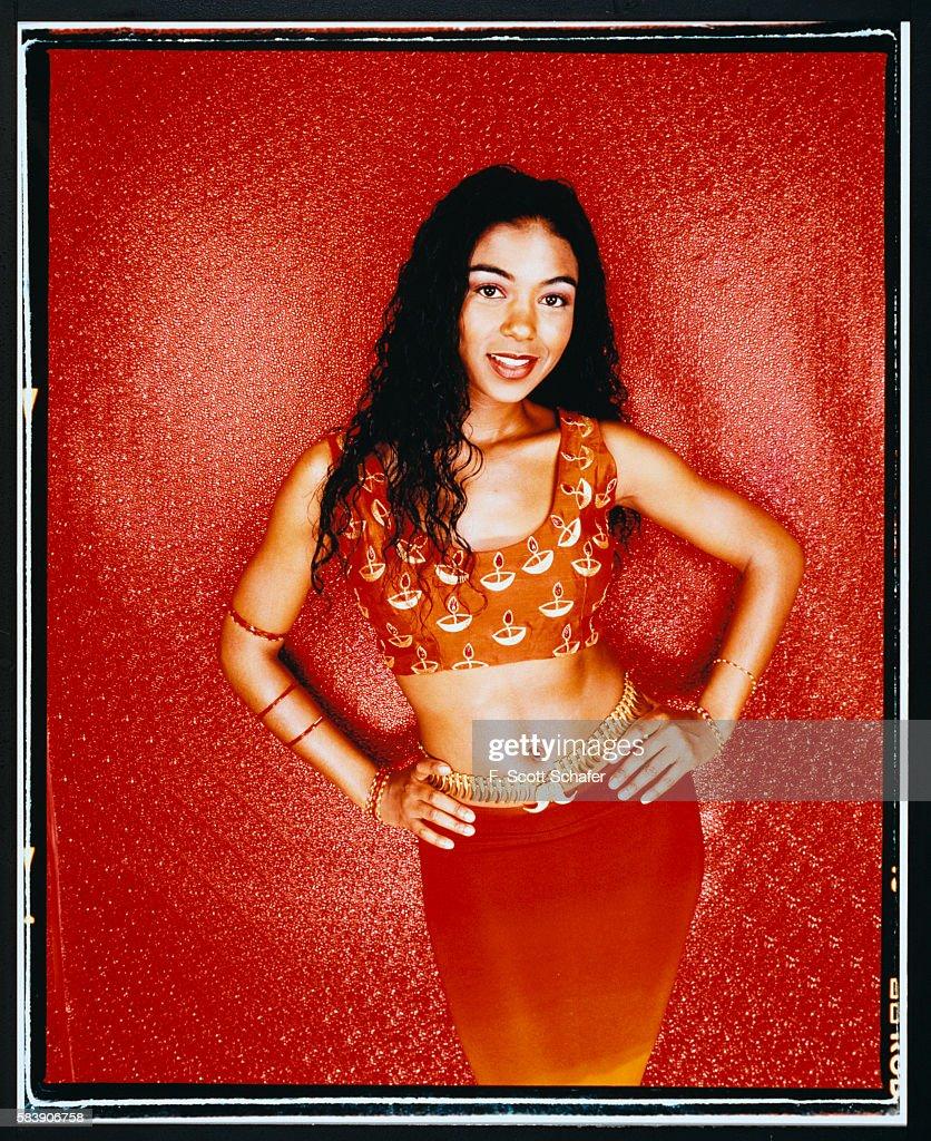 Ananda Lewis, React Magazine, February 2000 : News Photo