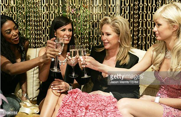 Ananda, Nicky Hilton, Mother Kathy Hilton, and Paris Hilton