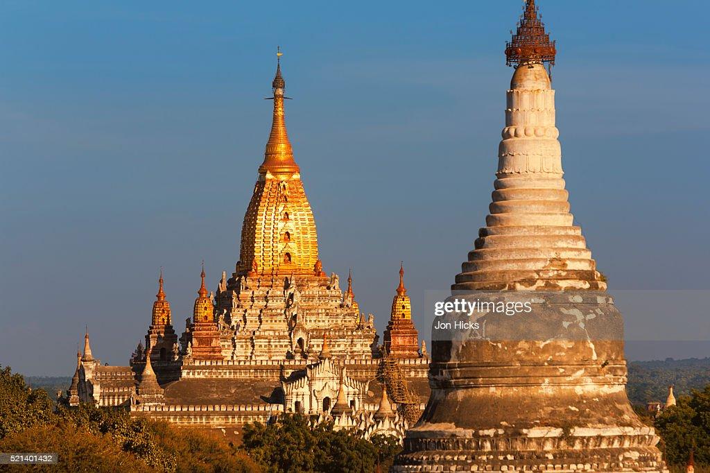 Ananda Pahto in Bagan : ストックフォト