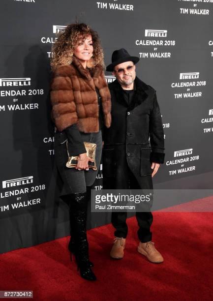 Anane Vega and Louie Vega attend Pirelli Calendar 2018 Launch Gala at The Manhattan Center on November 10 2017 in New York City