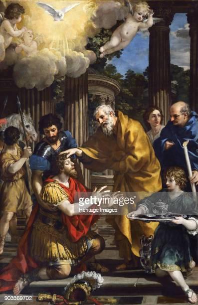 Ananias restoring the sight of Saint Paul Found in the Collection of Chiesa di Santa Maria della Concezione Rome