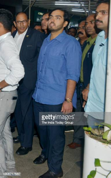 Anant Ambani during special screening of the film Chalo Jeete Hain in Mumbai