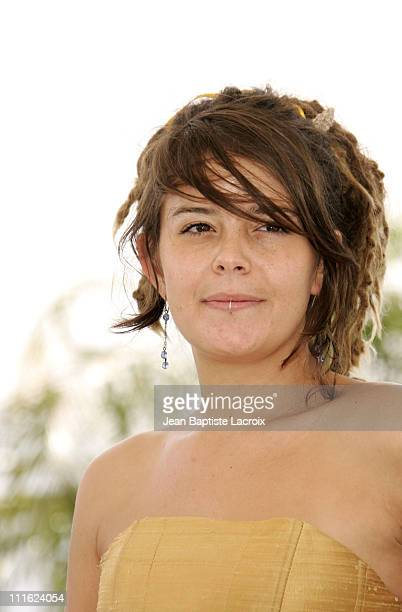 Anapola Mushkadiz during 2005 Cannes Film Festival 'Batalla En El Cielo' Photocall in Cannes France
