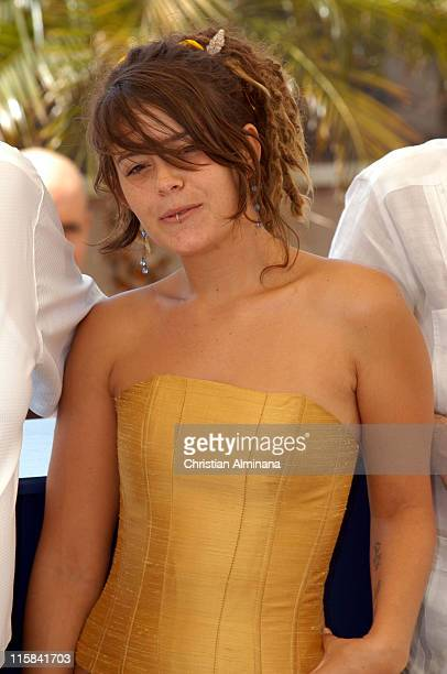 Anapola Mushkadiz during 2005 Cannes Film Festival Batalla En El Cielo Photocall in Cannes France