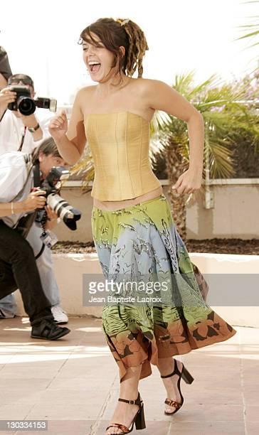 Anapola Mushkadiz during 2005 Cannes Film Festival 'Batalla En El Cielo' Photocall in Cannes France