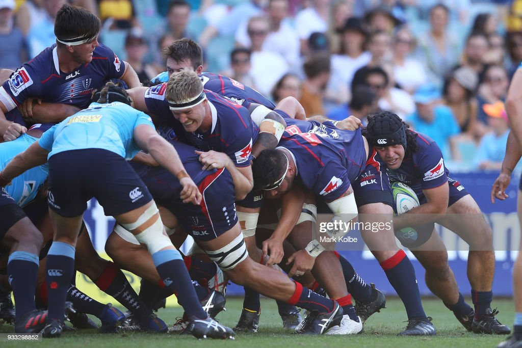 Super Rugby Rd 5 - Waratahs v Rebels : News Photo