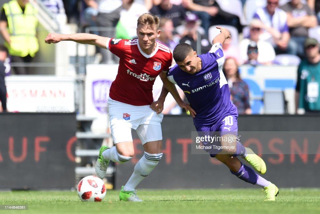 VfL Osnabrueck v SpVgg Unterhaching - 3. Liga : Fotografía de noticias
