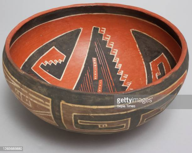 Anasazi, Native American, Bowl, between 1300 and 1500, clay, Overall: 8 1/2 inches .