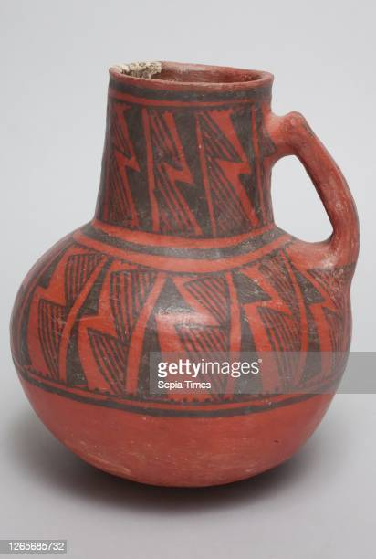 Anasazi, Native American, Pitcher, between 1050 and 1200, clay, Overall: 7 3/4— 7 inches .