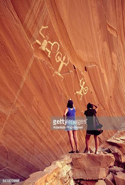 Anasazi Pictograph in Forgotten Canyon