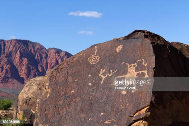 Anasazi Ridge Petroglyphs near St. George, UT