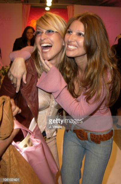 Anastacia and designer Daniella Clarke during MercedesBenz Shows LA Frankie B Front Row and Backstage at The Standard Downtown LA in Los Angeles...