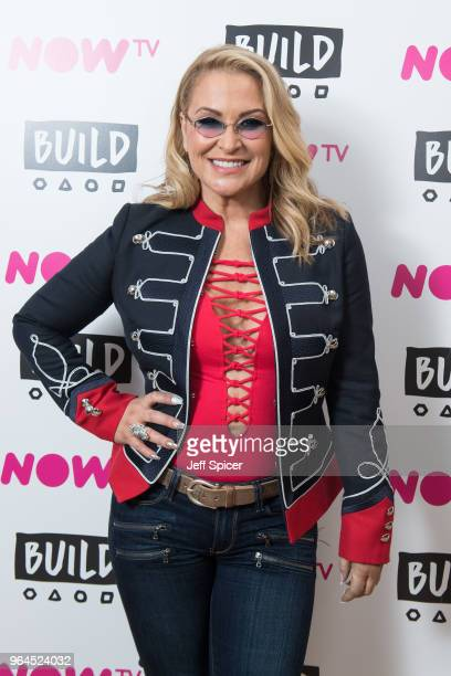 Anastacia attends BUILD to talk about her current tour on May 31 2018 in London England