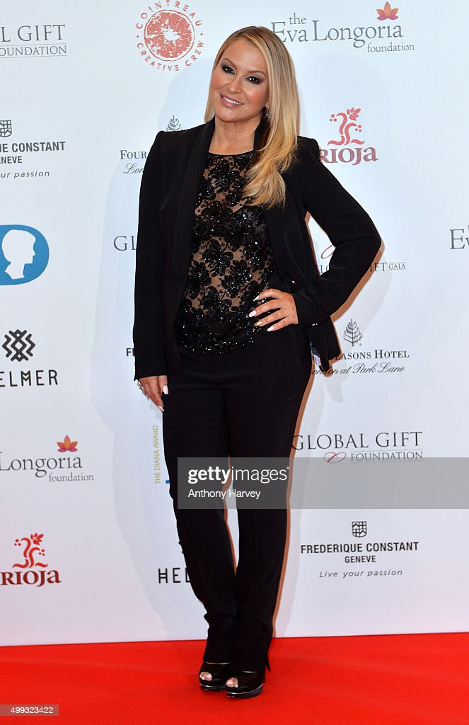 Anastacia attends The Global Gift Gala at Four Seasons Hotel on November 30, 2015 in London, England.