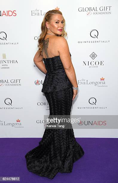 Anastacia attends the Global Gift Gala in partnership with Quintessentially on November 19 2016 at the Corithinia Hotel in London United Kingdom