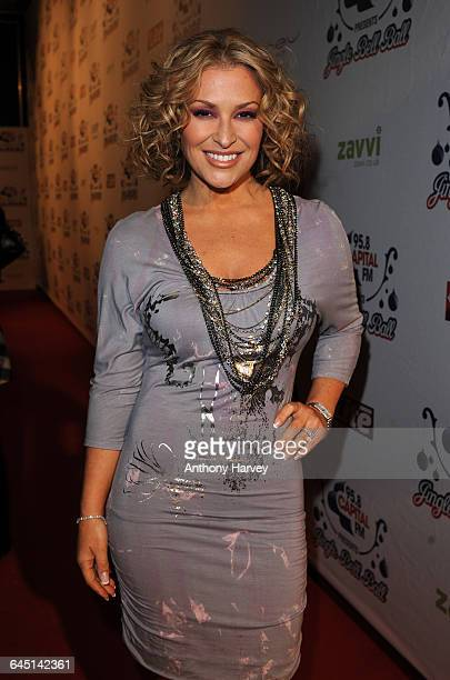 Anastacia attends The Jingle Bell Ball at the O2 Arena on December 10 2008 in London