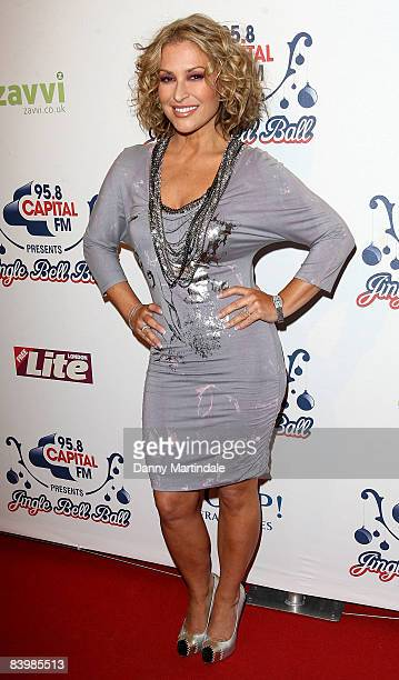 Anastacia attends the Jingle Bell Ball at The O2 Arena on December 10 2008 in London England