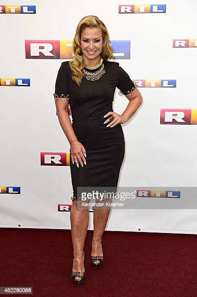 Anastacia attends the offical Television programmpreview of german television production RTL on July 17 2014 in Hamburg Germany She will be a member...