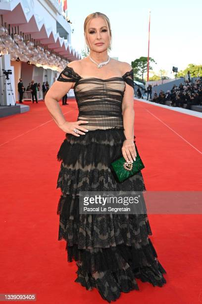"""Anastacia attends the red carpet of the movie """"Freaks Out"""" during the 78th Venice International Film Festival on September 08, 2021 in Venice, Italy."""